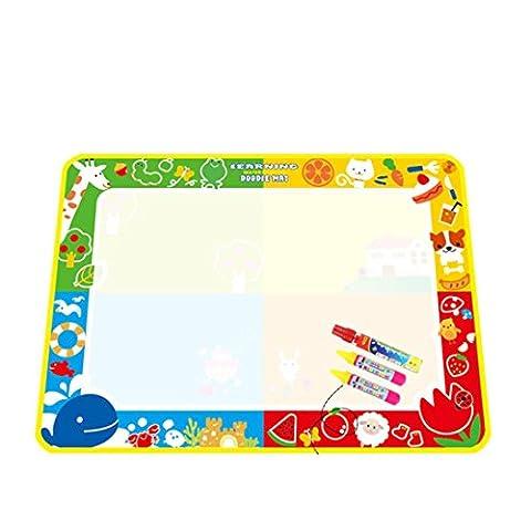 Yogogo- enfants Jouet - Eau Mat Dessin Peinture - conseil de rédaction Magic Pen Doodle - 100X73cm