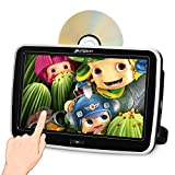 "Pumpkin 10.1"" Pantalla Táctil Reproductor DVD Coche, HD Multimedia para Resposacabezas de Coche, soporta USB/SD / 1080P Video/AV-IN/AV-out/Entrada de HDMI/Uso Doméstico"