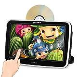 Pumpkin 10.1' Pantalla Táctil Reproductor DVD Coche, HD Multimedia para Resposacabezas de Coche, soporta USB/SD / 1080P Video/AV-IN/AV-out/Entrada de HDMI/Uso Doméstico