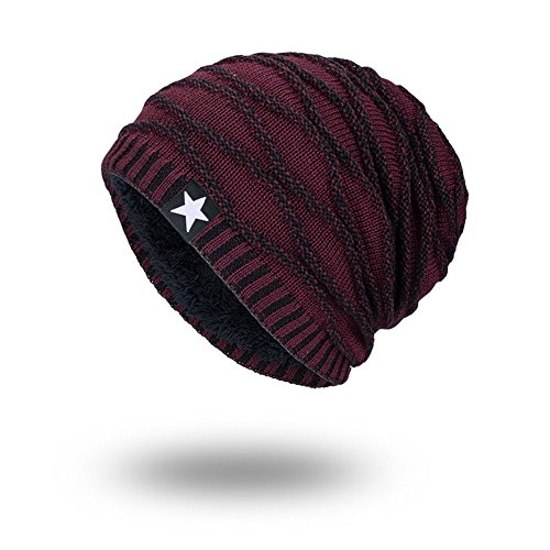 iHENGH Bequem Lässig Mode Unisex Strickmütze Hedging Head Hat Beanie Cap Warme Outdoor Mode Hut Wir - Patagonia-classic Hut