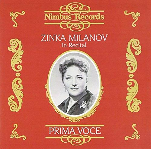 Zinka Milanov in Recital