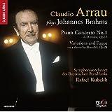 C. Arrau Plays Brahms