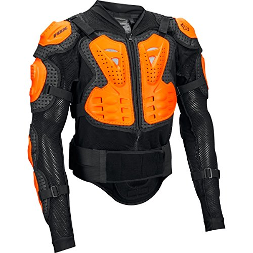 FOX Jacket Titan Sport, Black/Orange, Größe L