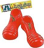 Erwachsene Ausgefallen Party Kostüm Zubehör Coco Clownerie Zirkus Clown Pvc Schuhe Rot