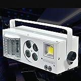 IAGM Bühnenlicht LED-Stroboskop-Muster-Lichter 4 in 1 KTV-Raum-Effekt-Lichter Schmetterlings-Licht-Strahln-Lichter