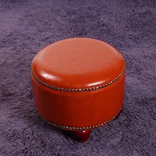 JSSFQK Lesehocker Runde Bronze Weiche Und Bequeme rutschfeste Kleidung Studenten (Mehrfarbig Optional) Stuhl (Color : Metallic) -