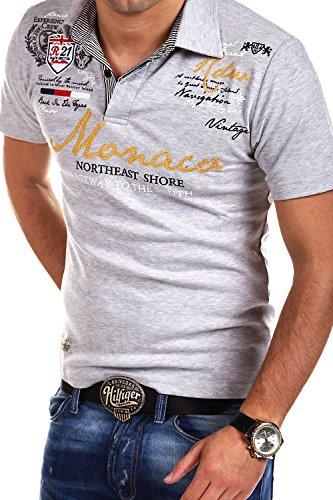 361ec58f MT Styles Polo Monaco T-Shirt Manches Courtes R-2254