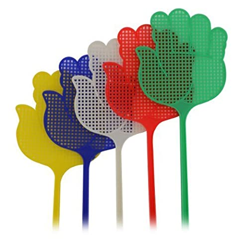 New 5x Large Plastic Bug Fly Swatters Insect Mosquito Wasp Pest Control Hand Shopmonk