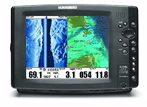 Humminbird 1198cx SI Combo Colour Fishfinder/Plotter - Side / Down