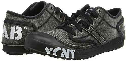 Yellow Cab Men's Ground M Low-Top Sneakers Black Size: 6
