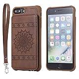 DENDICO Coque iPhone 7 Plus / 8 Plus, Ultra Fine Housse en Cuir pour Apple iPhone 7...