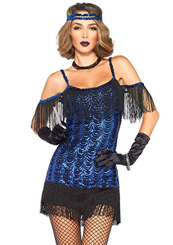 atsby Flapper Damen kostüm , Größe Medium (EUR 38), Karneval Fasching ()