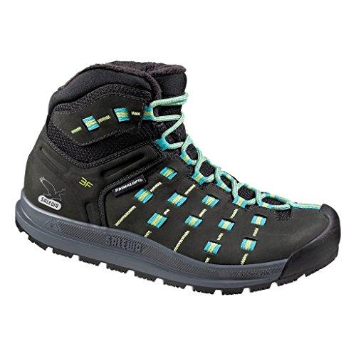 SALEWA Ws Capsico Mid Insulated, Chaussures de randonnée femme Noir (Black/Dragonfly_0929)