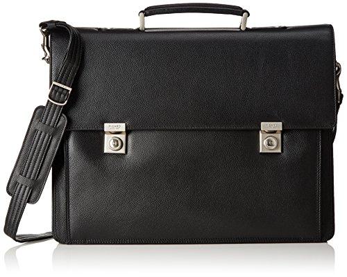 Picard Aberdeen Aktenmappe mit Laptopfach 42 cm schwarz schwarz