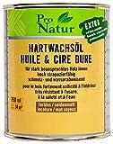Pro Natur Hartwachsöl 0,75L farblos Hartwachs Öl Wachs seidenmatt
