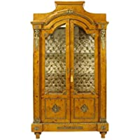 Comparador de precios Casa-Padrino Empire Vitrine Birdseye Maple 195 x 110 cm - Handcrafted from Solid Wood - Baroque Display Case - precios baratos