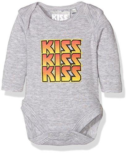 Twins Unisex Baby Body Kiss, Grau (Grau-Melange 123010), 68