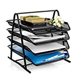 PINZO™ 4 Tier Document, File, Paper, Letter, Office Desktop Tray/Organizer