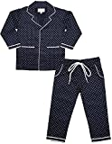 ShopMozo Blue Printed Boys Night Suit (Boys Night Dress) (SM-00164BOYSSWPT_Blue_4-5 Years)