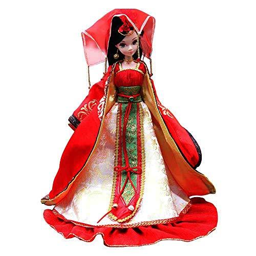 Blancho Bedding [Chinesische Bräute] Puppen Sammler Antik-Kostüm-Puppe-Sammlung Chinesische Hochzeit
