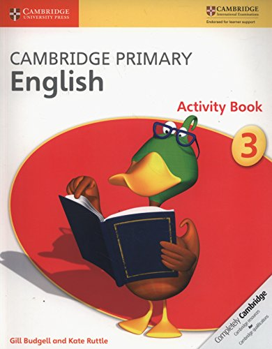 Cambridge Primary English. Activity Book Stage 3 por Gill Budgell