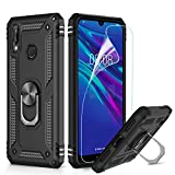 LeYi Case for Huawei Y7 2019 with Ring Holder Kickstand,