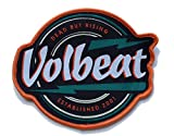 VOLBEAT - Dead but rising Aufnäher Patch 12 x 11 cm