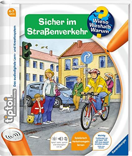 Ravensburger 00580 - tiptoi: Wieso? Weshalb? Warum? Sicher im Straßenverkehr (ohne Stift) -