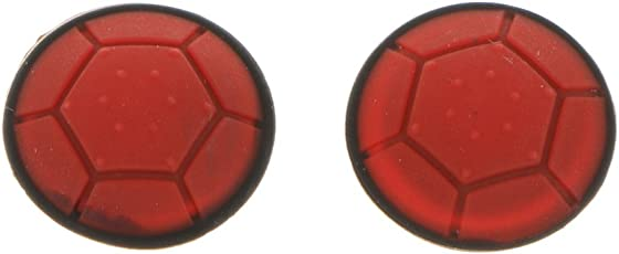 Phenovo 2Pack Analog Controller Thumbstick Grip Joystick Cap Cover for Microsoft XBOX360 red