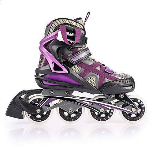 METEOR® DISTRICT Patines en Línea (Niños Mujer Hombres Inline Skates ABEC 7...