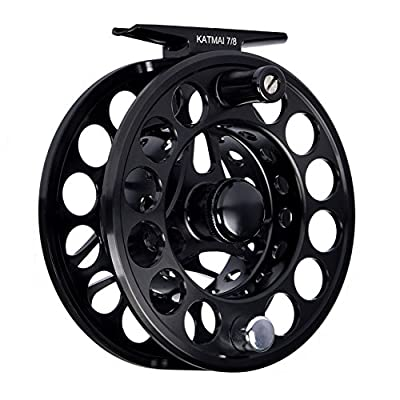 KastKing Katmai Waterproof Fly Fishing Reel, Large Arbor Fly Fishing Gear, Sealed Drag, Forged Aluminum by Eposeidon