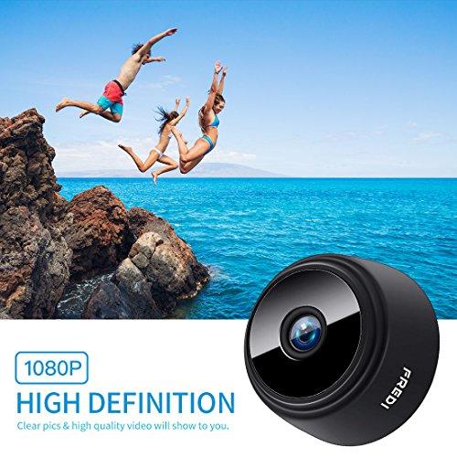 FREDI HD1080P WIFI telecamera Spia videocamera nascosta Microcamera Wireless Mini Camera spia microtelecamera wifi Hidden Spy Cam Videocamera di sorveglianza Interno IP telecamera di sorveglianza - 9