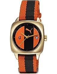 Puma Time Damen-Armbanduhr Legend Gt2 Analog Quarz Nylon PU103402002