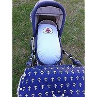 Kissenbezug für den Kinderwagen Anker