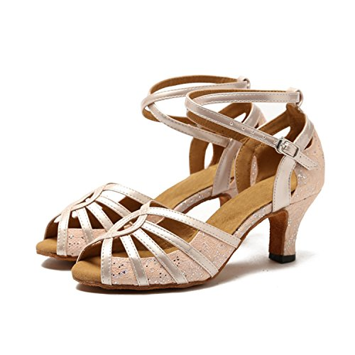 Minitoo ,  Damen Tanzschuhe Pink-6cm Heel