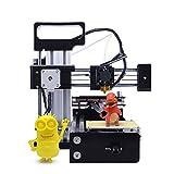 KKmoon Tragbar Hohe Präzision 3D Drucker, Metall Maschine DIY Kit mit LCD Bildschirm und Drucken Zubehör, Off-line Drucken PLA Material für den Anfänger Benutzer Kinder, Industrie Medizinisch Designer
