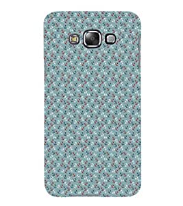 iFasho Modern Art Design Pattern with Lot Of small anchor Back Case Cover for Samsung Galaxy E5