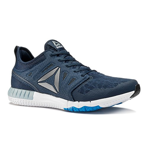 Reebok Zprint 3d We, Chaussures de Course Homme Bleu (Collegiate Navy/horizon Blue/gable Grey/)