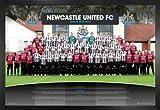 1art1 Fußball Poster und MDF-Rahmen - FC Newcastle United,