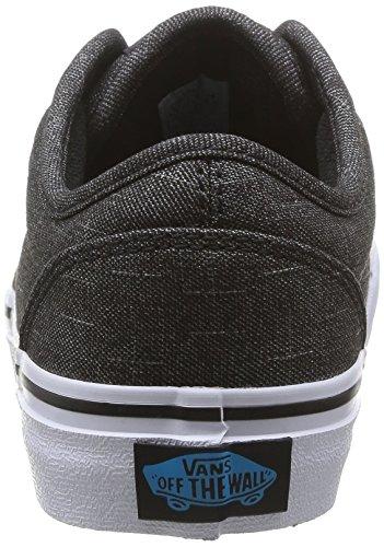 Vans ATWOOD Unisex-Kinder Sneakers Schwarz ((Textile)Bk/Haw FN8)