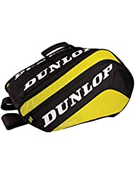 Dunlop Paletero Tour Grande - Bolsa paletero, color negro / amarillo
