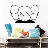 Ajcwhml Adesivi murali artistici per Bambini murali Camera Decorazione della casa Soggiorno Vinile Applique Anime Poster Arredamento Camera da Letto 57X36CM