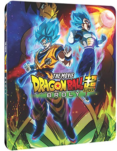 Dragon Ball Super: Broly SteelBook [Blu-ray] [Reino Unido]