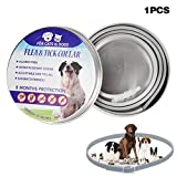 Crewell Cat Dog Collar Tick Flea Anti Insect Mosquitoes Waterproof Long Lasting 8