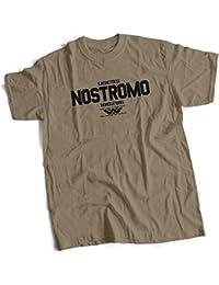 bybulldog® USCSS Nostromo Alien Mens Premium T-Shirt Choice of 15 Colours Small to 3XL