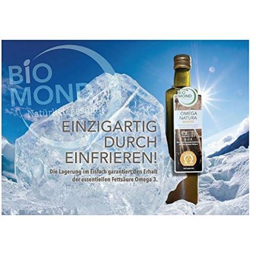 Omega 3 6 9 Natura Speise L Biomond 500 Ml Omega Fettsuren 6 Bio Speiselen Ungefiltert Frisch Gepresst