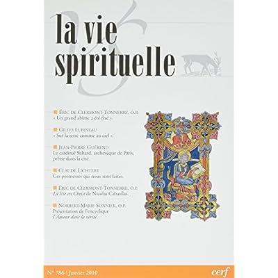 La Vie Spirituelle n° 786