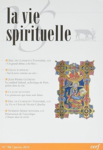 La Vie Spirituelle Vs 786 Janiver 2010 par Collectif