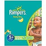 Pampers Baby Dry taille 5 + (13-27 kg) Carry Paquet Junior Plus 6x23 par paquet