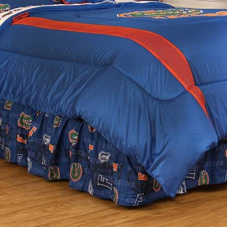 NCAA Florida Gators Bett Rock-, Bright Blue (Blau Twin Bedskirt)